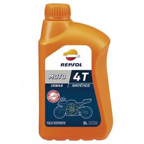 Lata aceite moto Repsol 4t 10w40 1L