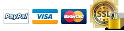 Pago por Paypal, Tarjeta o Transferencia Bancaria.
