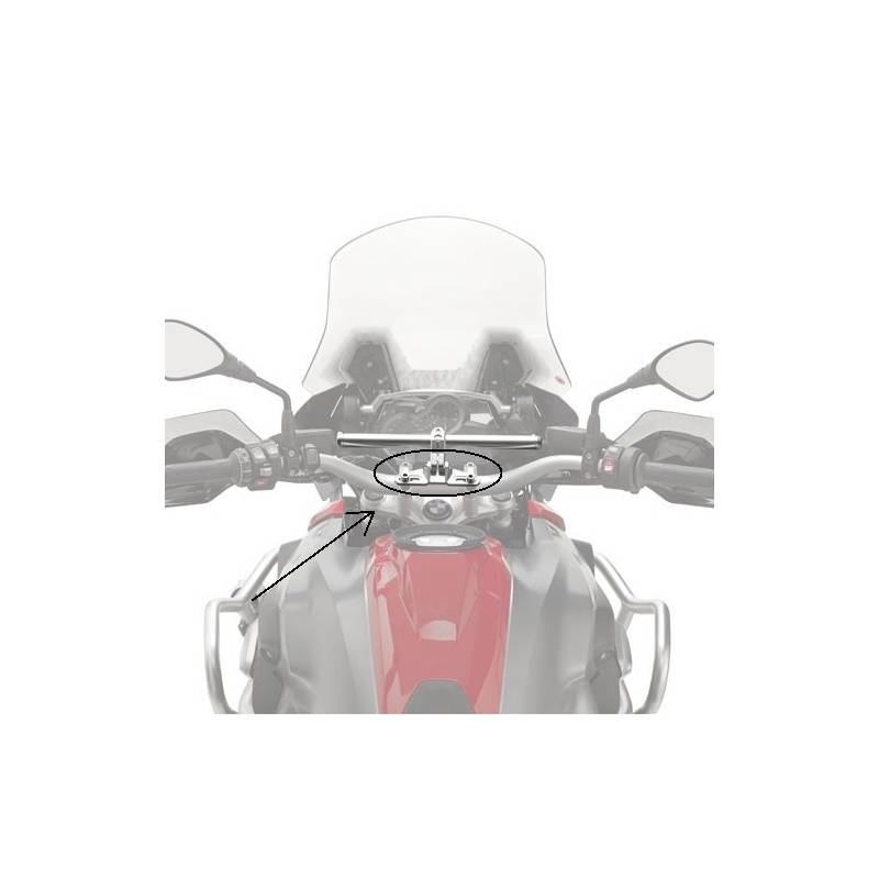 Kit Portanavegador y Smartphone Marca Givi 01skit