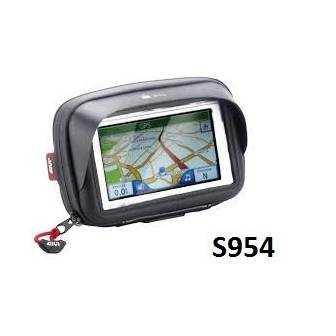 Portanavegador y Smartphone Moto Givi S954