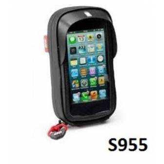 Portanavegador y Smartphone Moto Givi S955B