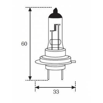 Lámpara Moto Amolux H-7 12v 55w Px26d 779