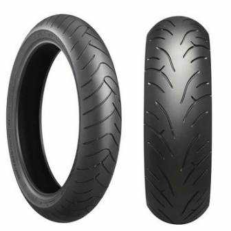 Bridgestone 120/70 Zr17 Bt023f 58w Tl Battlax Standard