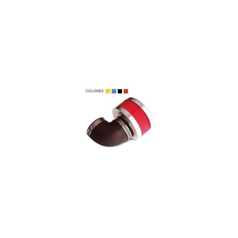 Filtro aire RQ potencia pequeño 90 grados D32-38 14068