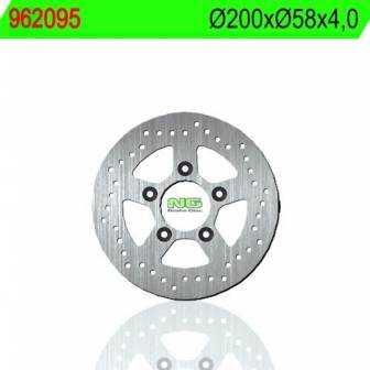 Disco de freno NG para moto referencia 095