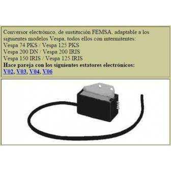 Bobina electronica LEVISTRONIC para VESPA equipo femsa