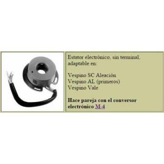 Stator de encendido electronico LEVISTRONIC para VESPINO SIN terminal