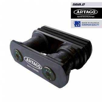 Soporte Antirobo Artago Moto Horquilla 568b