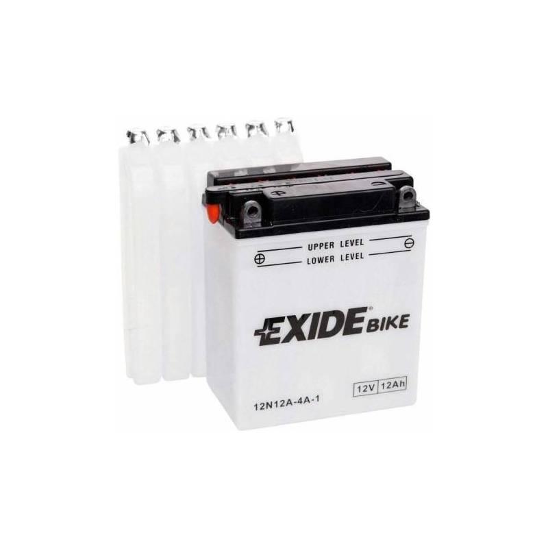 Batería EXIDE para moto modelo 12N12A-4A-1 12V 12Ah
