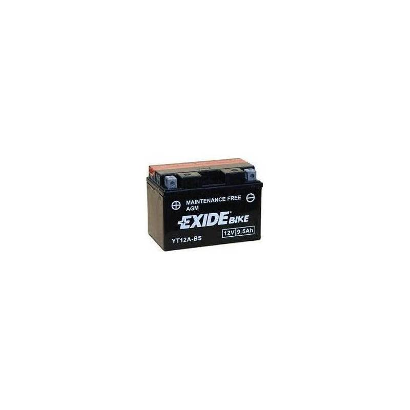 Batería EXIDE para moto modelo ET12A-BS 12V 10Ah