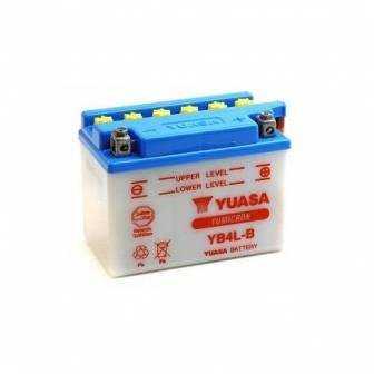 Batería de moto YUASA YB4L-B CON ACIDO