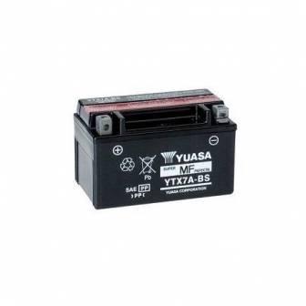 Batería de moto YUASA YTX7A-BS