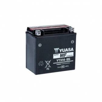 Batería de moto YUASA YTX14-BS