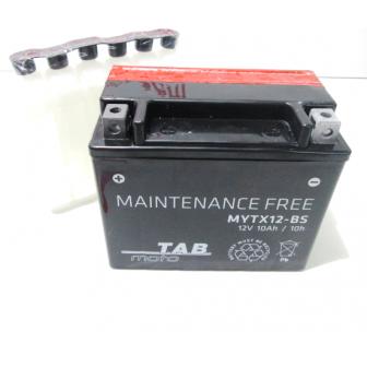 Bateria para moto TAB YTX12-BS