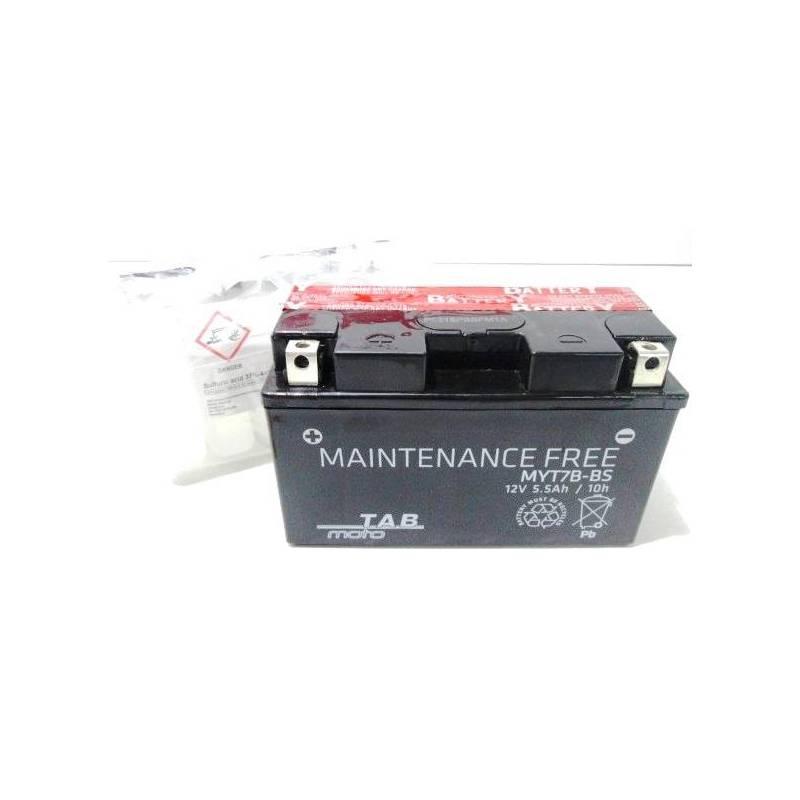 Bateria para moto de la marca TAB medelo YT7B-BS