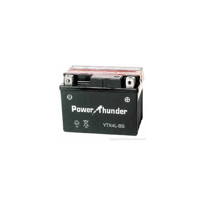 Batería moto POWER THUNDER YTX4L-BS