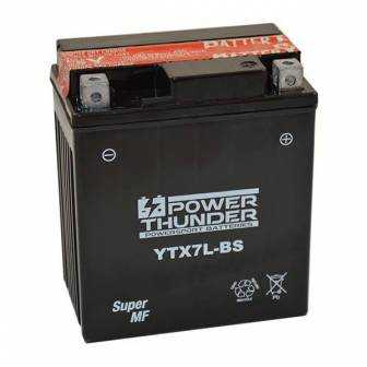 Batería moto POWER THUNDER YTX7L-BS