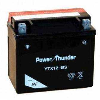 Batería moto POWER THUNDER YTX12-BS