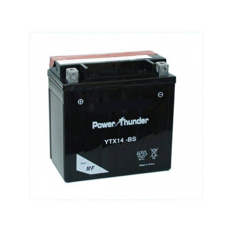 Batería moto POWER THUNDER YTX14-BS