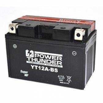 Batería moto POWER THUNDER YT12A-BS