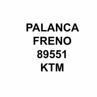 Palanca freno KTM gris 89551