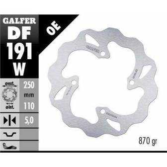 DISCO FRENO GALFER WAVE 250x5mm DF191W