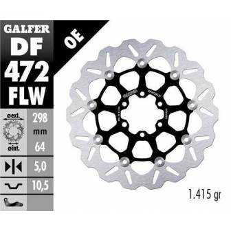 Disco Freno Wave Galfer Flotante 298x5mm Df472flw