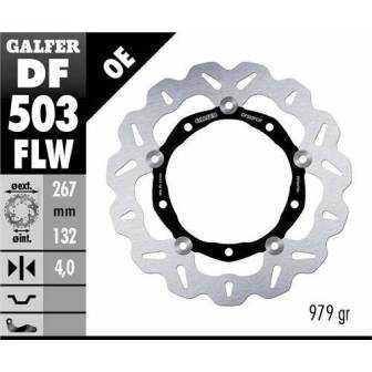 DISCO FRENO GALFER WAVE 267x4mm DF503FLW