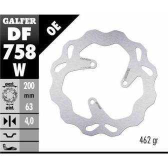 Disco Freno Wave Galfer Fijo 200x4mm Df758w