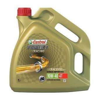 Aceite CASTROL moto POWER 1 RACING 4T 10W40 4litros
