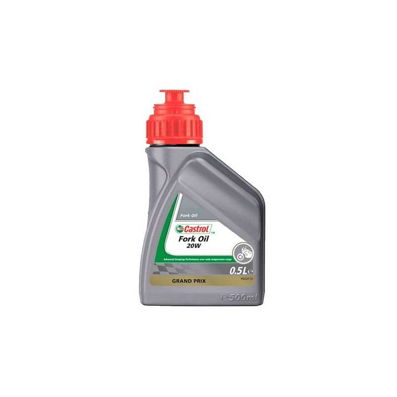 Aceite CASTROL para horquilla FORK OIL SAE 20w 500ml