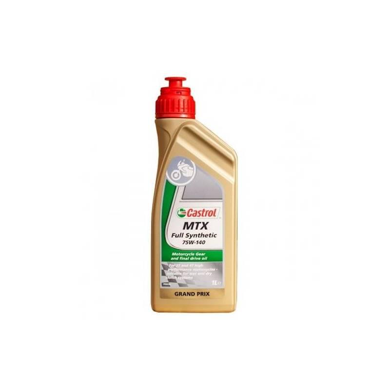 Aceite CASTROL Transmisiones MTX sintetico 75w-140 1Litro