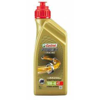 Aceite CASTROL moto POWER 1 RACING 4T 10W40 1litro