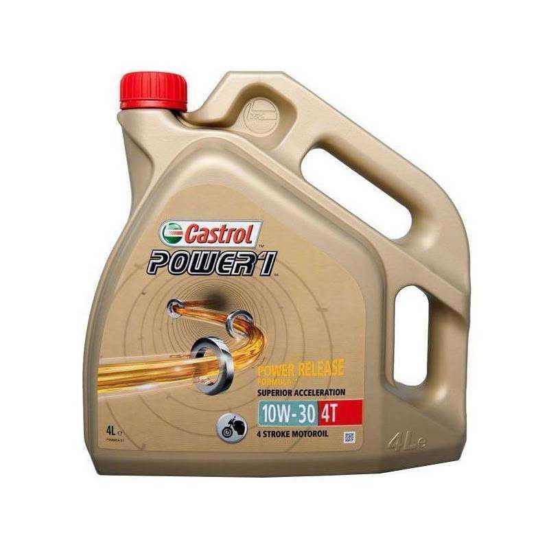 Aceite CASTROL moto POWER 1 4T 10W-30 4litros