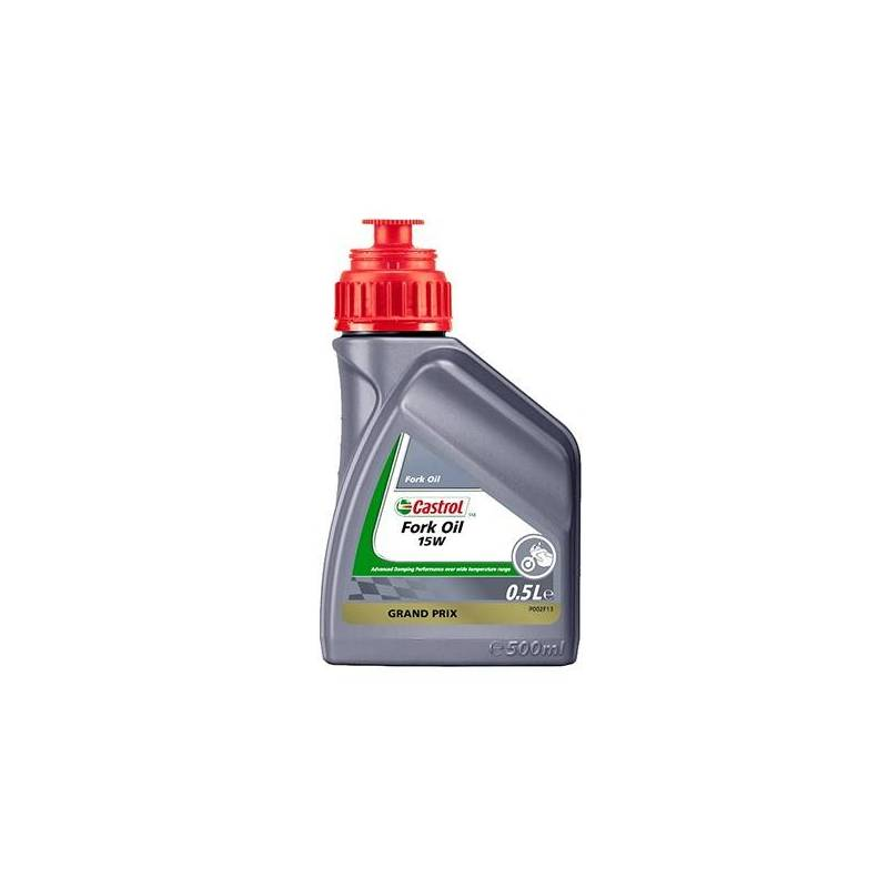 Aceite CASTROL para horquilla FORK OIL SAE 15w 500ml