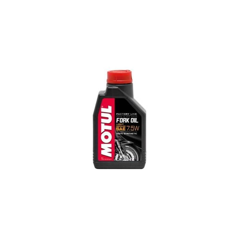 Aceite horquillas Motul Moto Fork Oil Factory 7.5W 1 litro