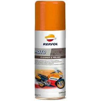 Aceite REPSOL moto CLEANER POLISH 400ml
