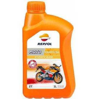 Aceite REPSOL moto COMPETICION 2T 1 LITRO