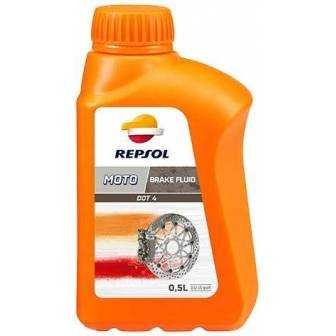 Aceite REPSOL moto DOT 4 BRAKE FLUID 500ml