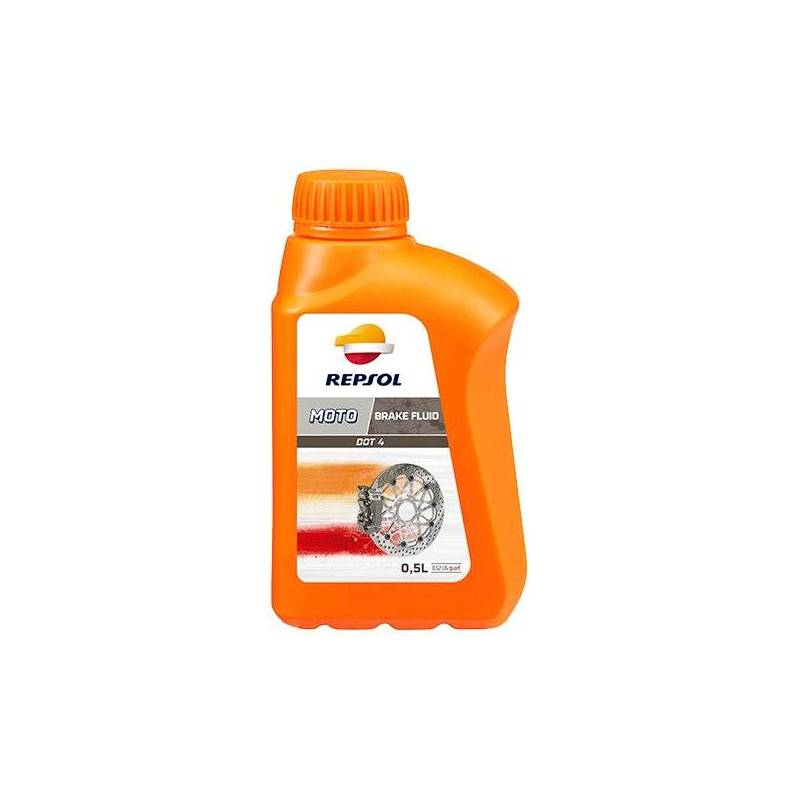 Aceite REPSOL moto DOT 4 BRAKE FLUID 500ml