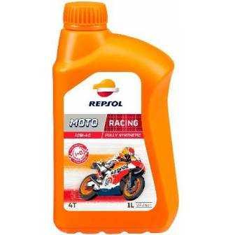 Aceite REPSOL moto RACING 4T 10W40 1 LITRO