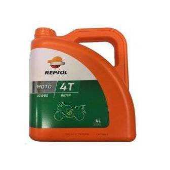 Aceite REPSOL moto RIDER 4T 20W50 4 LITROS