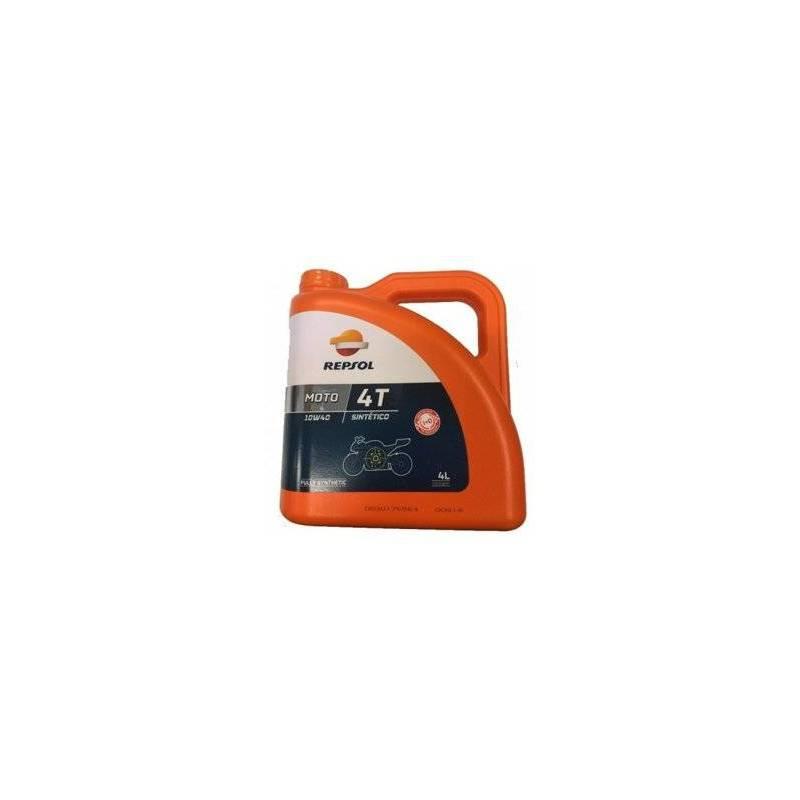 Aceite REPSOL moto SINTETICO 4T 10W40 4 LITROS