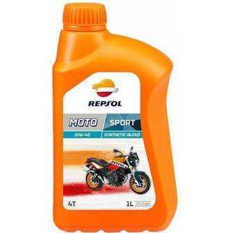 Aceite REPSOL moto SPORT 4T 10W40 1 LITRO