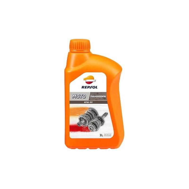 Aceite REPSOL moto TRANSMISION 80W90 1 LITRO