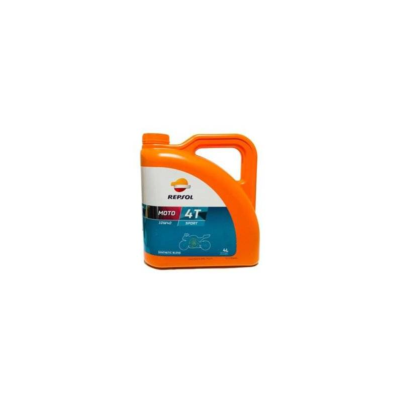 Aceite REPSOL moto SPORT 4T 10W40 4 LITROS