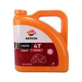 Aceite REPSOL moto RACING 4T 10W40 4 LITROS