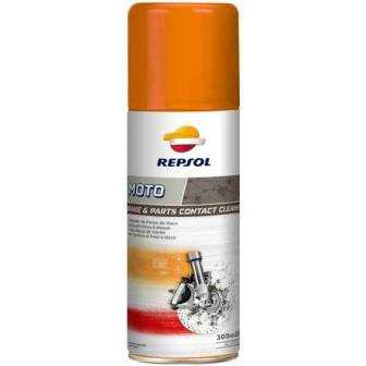 Limpiador frenos REPSOL moto contact cleaner spray 300ml