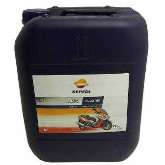Aceite REPSOL moto SCOOTER 5W40 20 LITROS