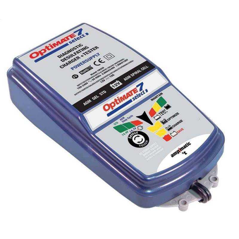 Cargador baterías Optimate 7 Select